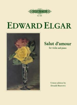 Salut d' Amour - ELGAR - Partition - Violon - laflutedepan.com
