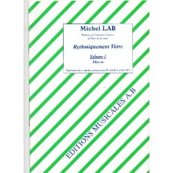 Michel Lab - Rhythmically yours - Volume 1 - Partition - di-arezzo.co.uk