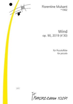 Wind, opus 90 Florentine Mulsant Partition laflutedepan