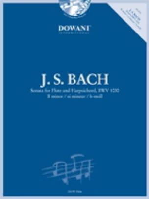 Sonate en si min. BWV 1030 - Flûte clavecin - BACH - laflutedepan.com