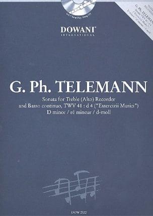 Sonata in D min. TWV 41 : d4 -Treble recorder Bc laflutedepan