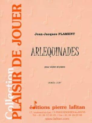 Arlequinades - Jean-Jacques Flament - Partition - laflutedepan.com