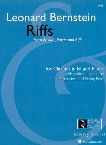 Riffs From Prelude,fugue And Riffs 1949 - BERNSTEIN - laflutedepan.com