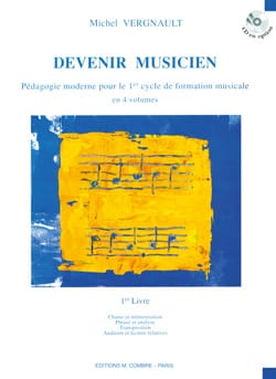 Devenir musicien - 1er Livre Michel Vergnault Partition laflutedepan