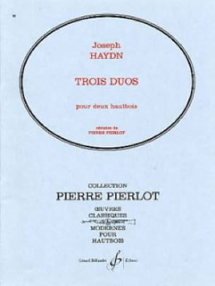 3 Duos -Hautbois - HAYDN - Partition - Hautbois - laflutedepan.com