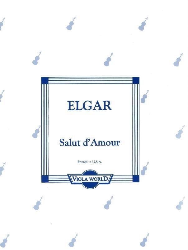 Salut d'amour - Alto - ELGAR - Partition - Alto - laflutedepan.com