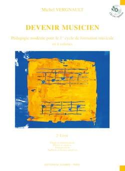 Devenir musicien - 2ème Livre Michel Vergnault Partition laflutedepan