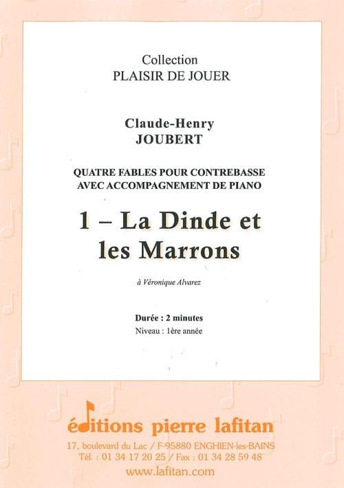 La Dinde et les Marrons - Contrebasse et piano - laflutedepan.com