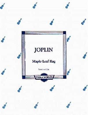 Maple Leaf Rag - Viola JOPLIN Partition Alto - laflutedepan