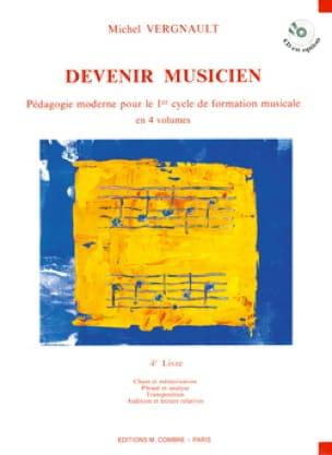Devenir musicien - 4ème Livre - Michel Vergnault - laflutedepan.com