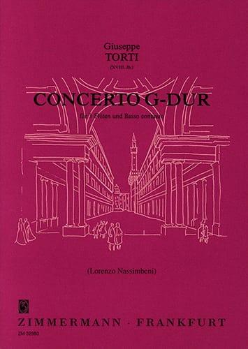 Concerto G-Dur - Giuseppe Torti - Partition - laflutedepan.com
