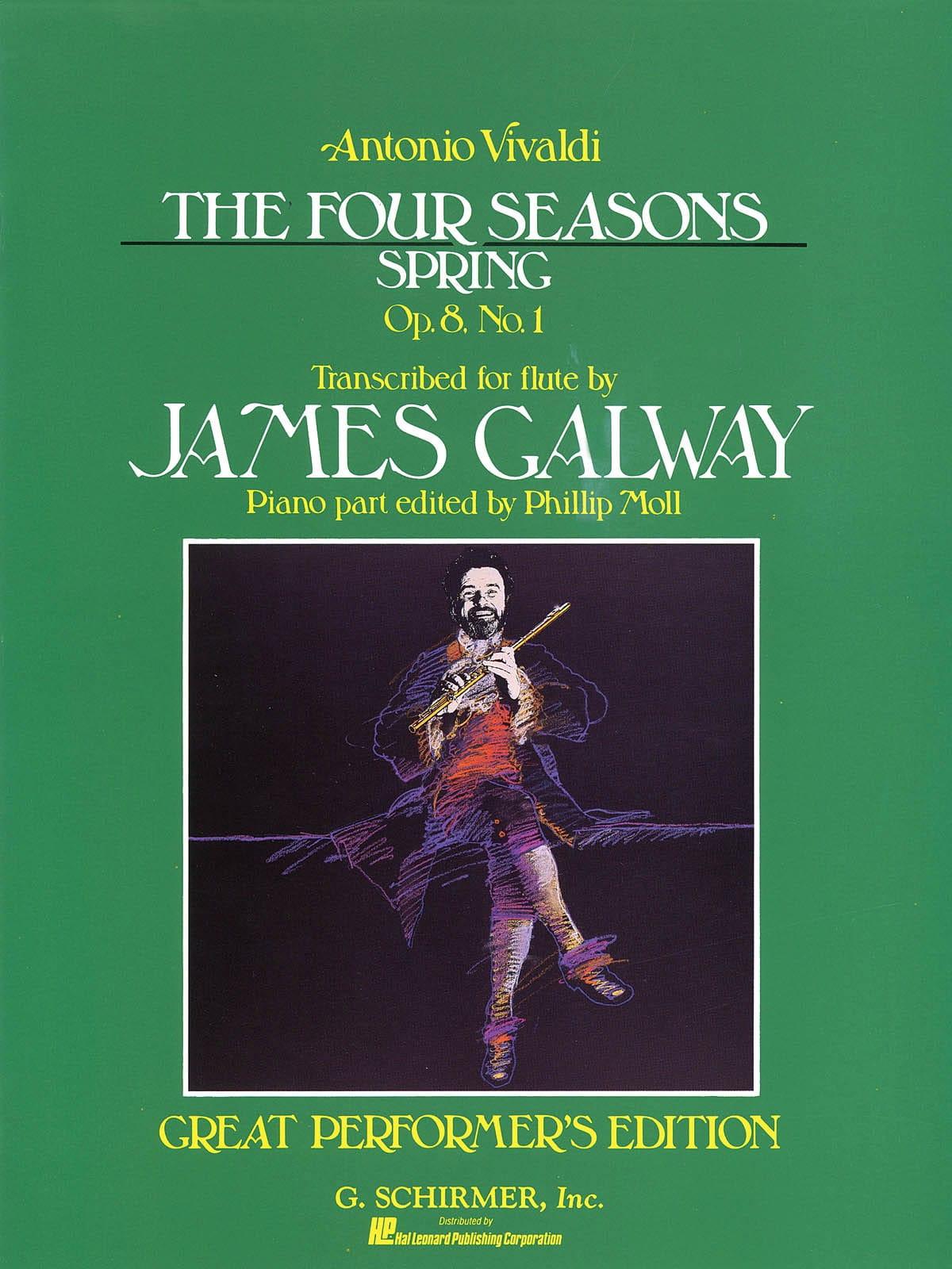 The Four Seasons Spring - Flute And Piano - VIVALDI - laflutedepan.com