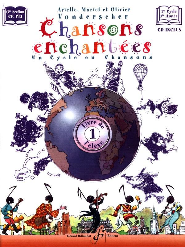 Chansons Enchantées Volume 1 - Partition - laflutedepan.com