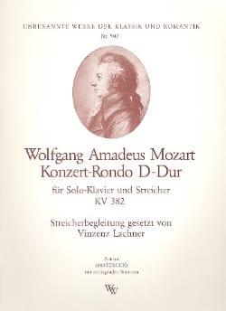 Konzert-Rondo D-Dur KV 382 - Solo Klavier u. Streicher - Stimmen laflutedepan