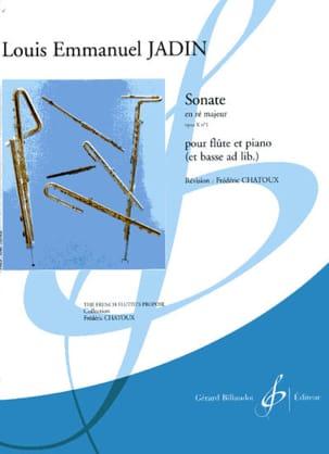 Sonate en ré majeur op. 10 n° 1 Louis-Emmanuel Jadin laflutedepan