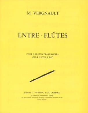 Entre flûtes - Michel Vergnault - Partition - laflutedepan.com
