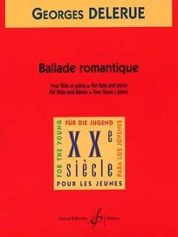 Ballade romantique Georges Delerue Partition laflutedepan