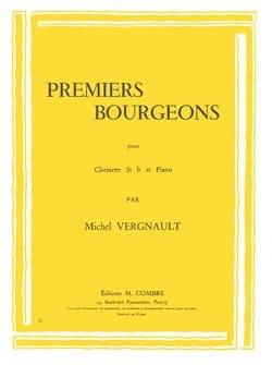Premiers bourgeons Michel Vergnault Partition laflutedepan