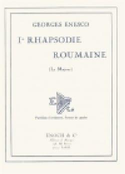 Georges Enesco - Rumano Rhapsody No. 1 op. 11 n ° 1 - Partition - di-arezzo.es
