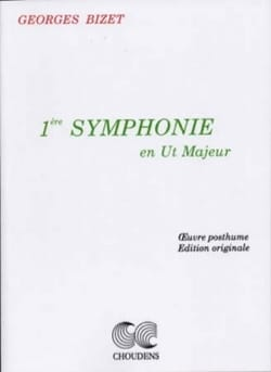 Symphonie n° 1 en ut maj. - Conducteur BIZET Partition laflutedepan