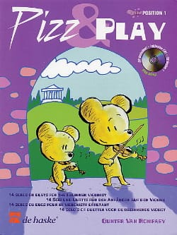 Pizz And Play Gunter van Rompaey Partition Violon - laflutedepan