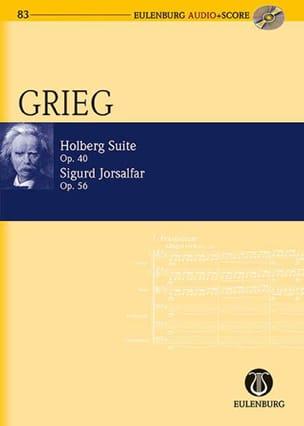 Holberg Suite, op. 40 / Sigurd Jorsalfar, op. 56 GRIEG laflutedepan