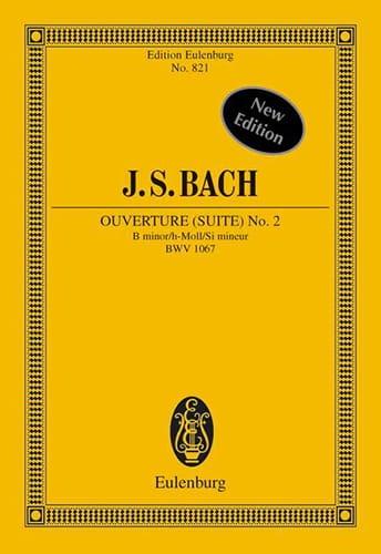 Suite Nr. 2 h-moll - BACH - Partition - laflutedepan.com