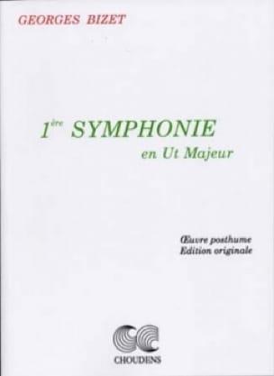 Symphonie n° 1 en ut maj. - Conducteur - BIZET - laflutedepan.com