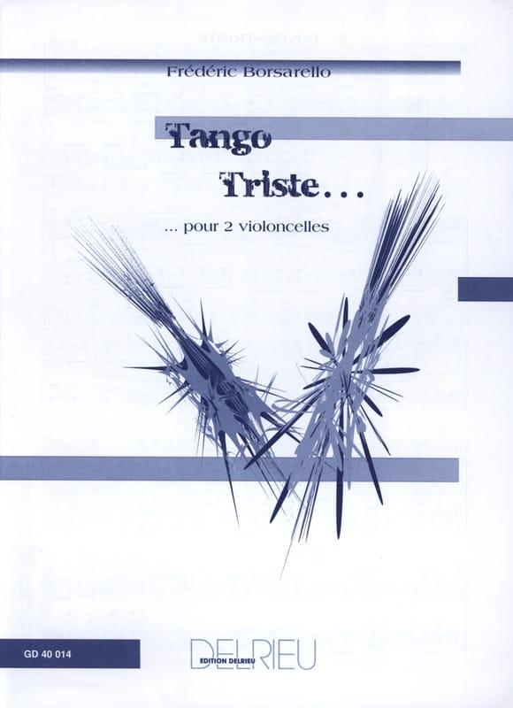 Tango Triste - Frédéric Borsarello - Partition - laflutedepan.com