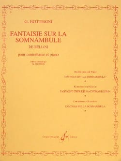 Fantaisie sur La Somnambule de Bellini BOTTESINI laflutedepan