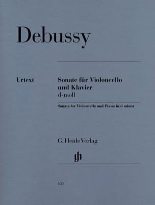 Sonate pour violoncelle et piano ré mineur DEBUSSY laflutedepan