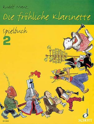 Die fröhliche Klarinette - Spielbuch 2 Rudolf Mauz laflutedepan