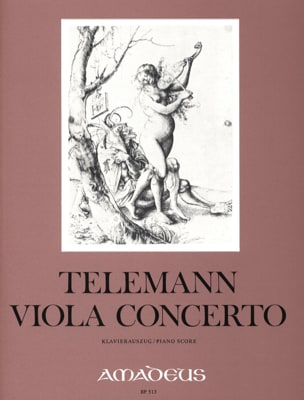 TELEMANN - Concierto de viola en sol mayor - Partition - di-arezzo.es