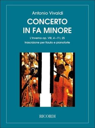 Concerto en fa min. L'inverno - F. 1 n° 25 - Flûte/Piano laflutedepan