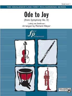 Ode to Joy from Syphony No. 9 - score & parts R. Meyer laflutedepan