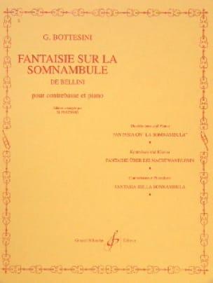 Fantaisie sur La Somnambule de Bellini - BOTTESINI - laflutedepan.com
