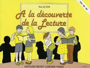 A la découverte de la lecture - Yves Klein - laflutedepan.com