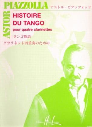 Histoire du tango - 4 Clarinettes - Astor Piazzolla - laflutedepan.com