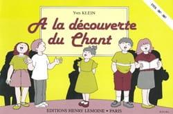 A la découverte du chant Yves Klein Partition Solfèges - laflutedepan
