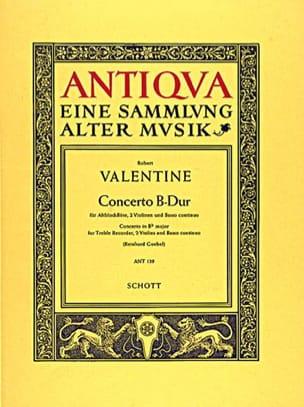 Concerto B-Dur -Altobloflöte 2 Violinen BC laflutedepan