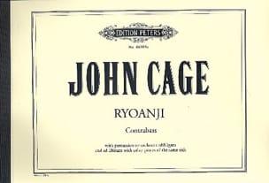 Ryoanji for Bass - CAGE - Partition - laflutedepan.com