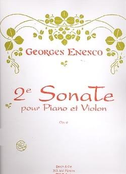 Sonate Violon n° 2 op. 6 ENESCO Partition Violon - laflutedepan