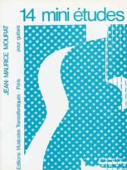 14 Mini Etudes Jean-Maurice Mourat Partition Guitare - laflutedepan