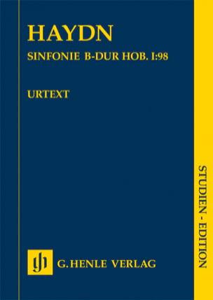 Symphonie n° 98 Joseph Haydn Partition Petit format - laflutedepan