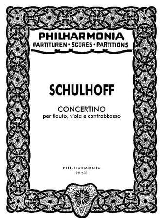 Concertino - Partitur - Erwin Schulhoff - Partition - laflutedepan.com