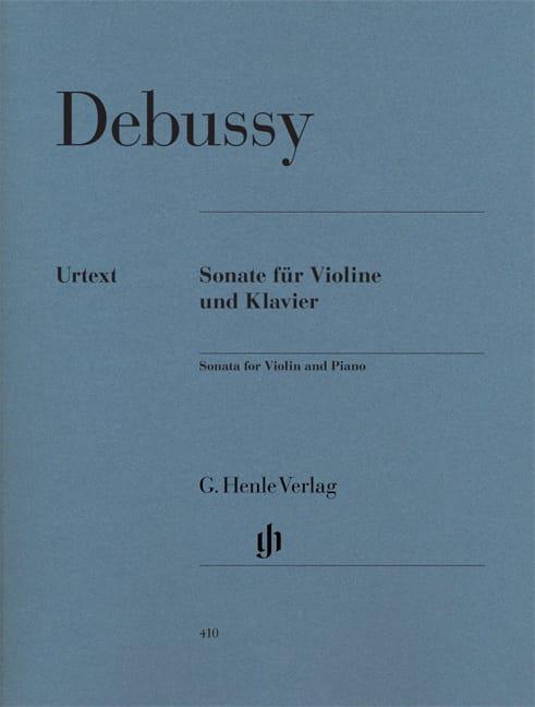Sonate pour violon et piano - DEBUSSY - Partition - laflutedepan.com