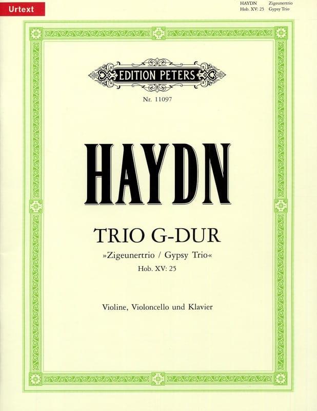 Trio en Sol Majeur Hob.15:25 - HAYDN - Partition - laflutedepan.com