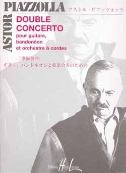 Double Concerto guitare-bandonéons cordes - Conducteur laflutedepan