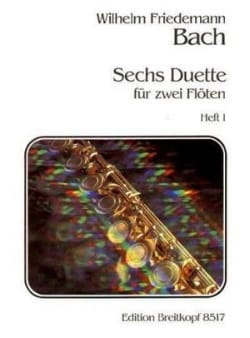 6 Duette, Heft 1 Nr. 1-3 - 2 Flöten laflutedepan