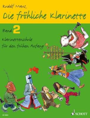Die fröhliche Klarinette - Bd. 2 Rudolf Mauz Partition laflutedepan